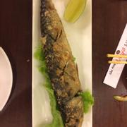 cá sanma nướng