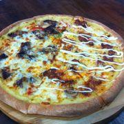 Pizza bò + heo