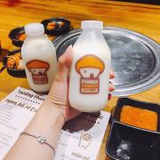 Sữa gạo Fungi nè, đáng yêu quá trời luôn, uống ngon bá chí bọ chét ❤️