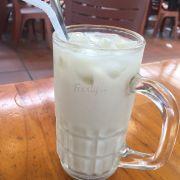 Sữa đậu nành nhà nấu 5k