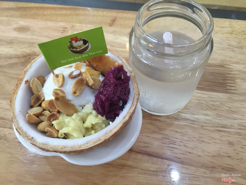 Combo kem xôi dừa 25k