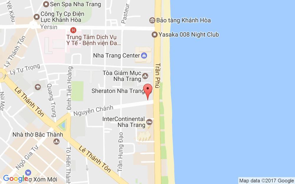 Vị trí bản đồ 14 Nguyễn Chánh, Lộc Thọ Tp. Nha Trang Khánh Hoà
