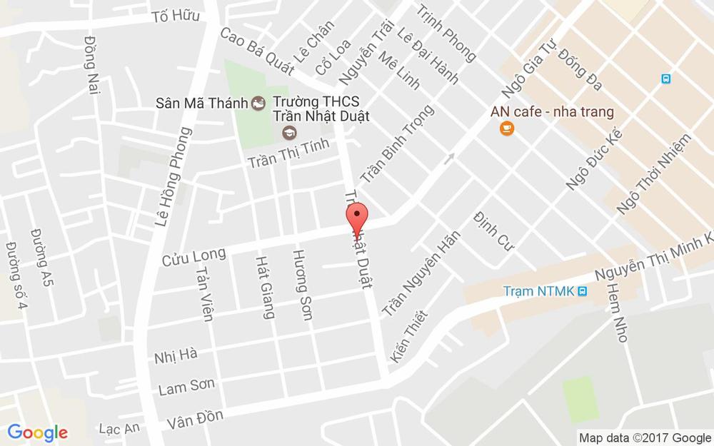 Vị trí bản đồ 37 Trần Nhật Duật Tp. Nha Trang Khánh Hoà