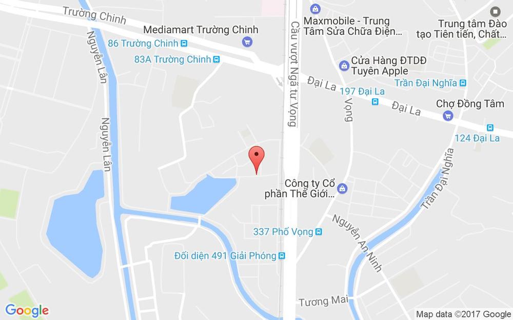 Vị trí bản đồ 24 Ngõ 178 Giải Phóng Quận Thanh Xuân Hà Nội