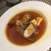 Súp hải sản, ngon lạ, khi ăn ước súp như tan trong miệng nhưng hương vị thì vẫn lưu lại...thật tuyệt!