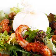 Salad tươi, vị trộn đậm đà, hải sản tươi ngọt...