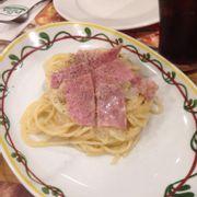 Đây là món spaghetti được tặng kèm khi mua bánh theo ngày.mỗi ngày mỗi món khác nhau.món tặng kèm cũng khác.từ t2 đến t6 luôn