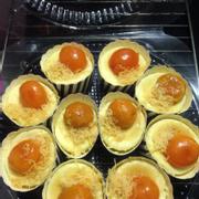 Bông lan trứng muối cupcake 100k