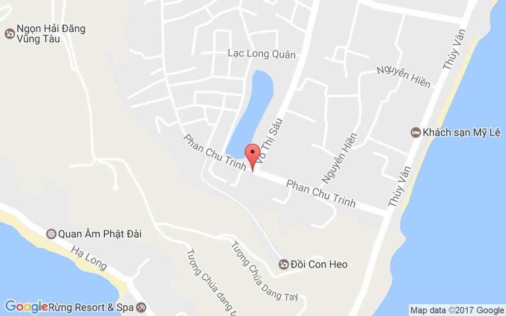 Vị trí bản đồ The Coast Hotel ở Vũng Tàu