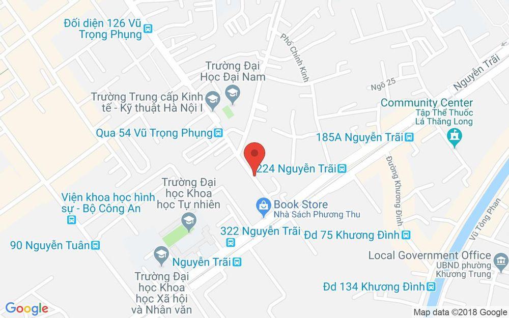 Vị trí bản đồ Ki Ốt 9 Ngụy Như Kon Tum Quận Thanh Xuân Hà Nội