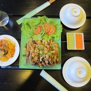 Lưỡi vịt rang muối Hong Kong