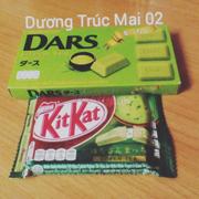 Sôcôla trà xanh Morinaga  - Kẹo sôcôla trà xanh KitKat
