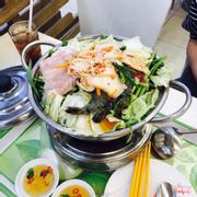 Lẩu Kim Chi Hải Sản hai người ăn no nê tại khu ăn uống tầng dưới Lotte Mart - 105k / lẩu (mì tính riêng)