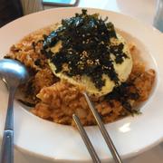 Cơm rang kimchi - chim ưng