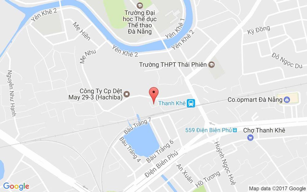 Vị trí bản đồ 31/7 Mẹ Nhu Quận Thanh Khê Đà Nẵng