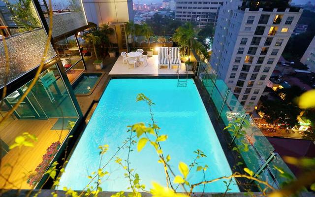 Le Jardin Restaurant & Bar - La Casa Hanoi Hotel
