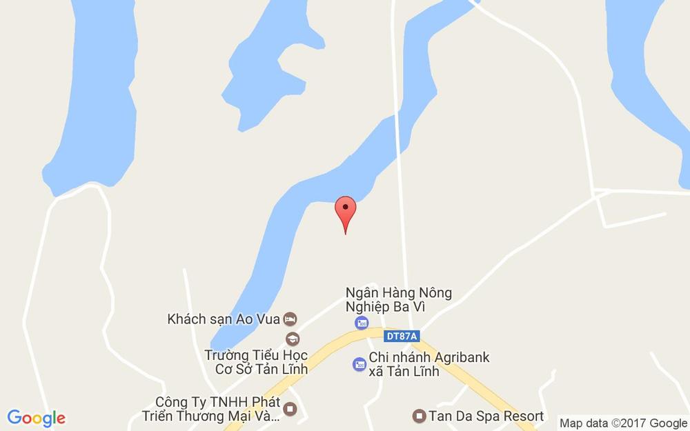 Vị trí bản đồ Nông Trại Dê Trắng - Tản Lĩnh ở Hà Nội