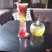 soda mứt trái cây xay