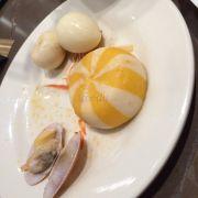 Chả cá, trứng, chíp chíp