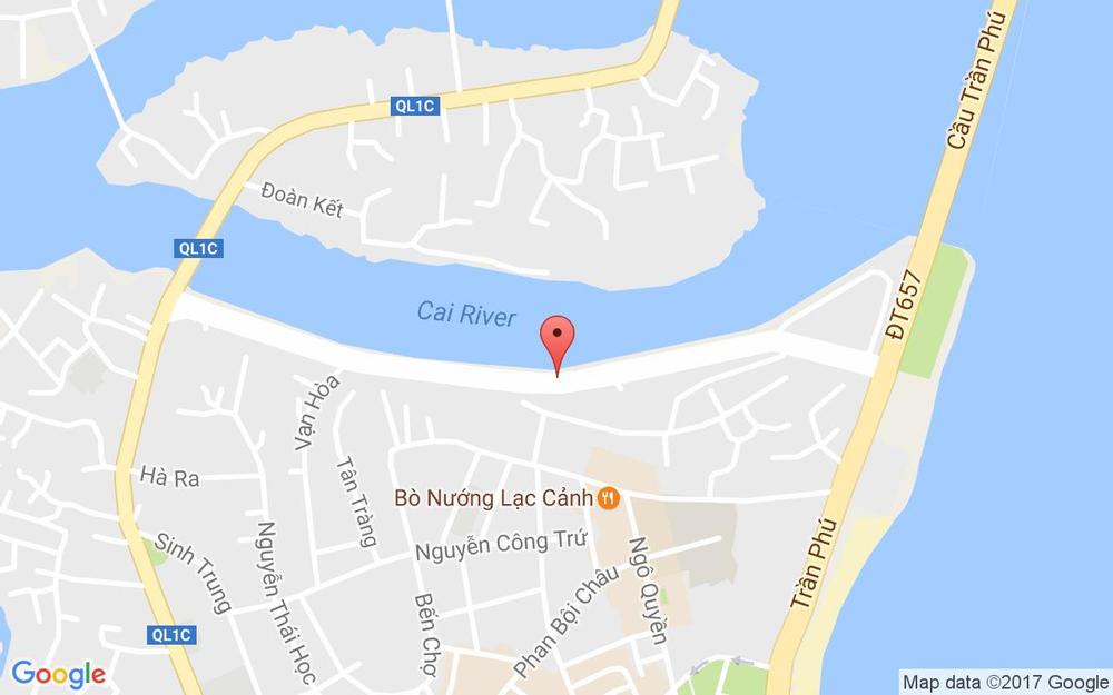 Vị trí bản đồ 206/66 Xóm Cồn  Tp. Nha Trang Khánh Hoà