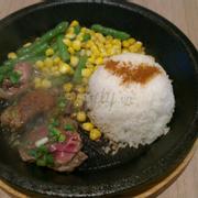 cơm bò chảo nóng