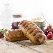 G012 - Bánh Trellis Phô mai và Trái cây Đỏ Cheesecake with Red Fruit Trellis