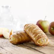 G011 - Bánh Trellis Táo Apple Trellis Trọng lượng: 90g Thành phần: Táo: 19%