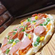 Piza xúc xích