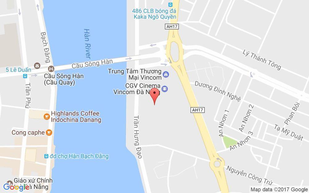Vị trí bản đồ Khu Vui Chơi Giáo Dục VinKe - Vincom Center Đà Nẵng ở Đà Nẵng