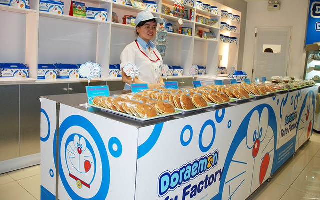 Doraemon Tofu Factory - AEON Mall Long Biên