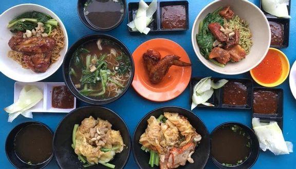 San San - Mì Gà Quay - Hoa Lan