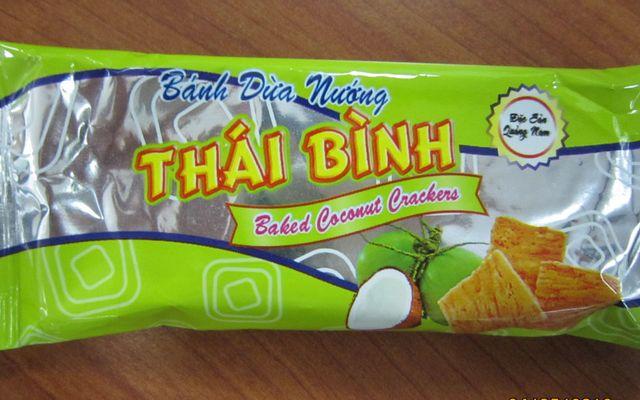 Bánh Dừa Nướng Thái Bình - Đặc Sản Quảng Nam
