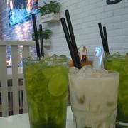 Trà chanh Thái và sữa đậu nàng thạch trà xanh