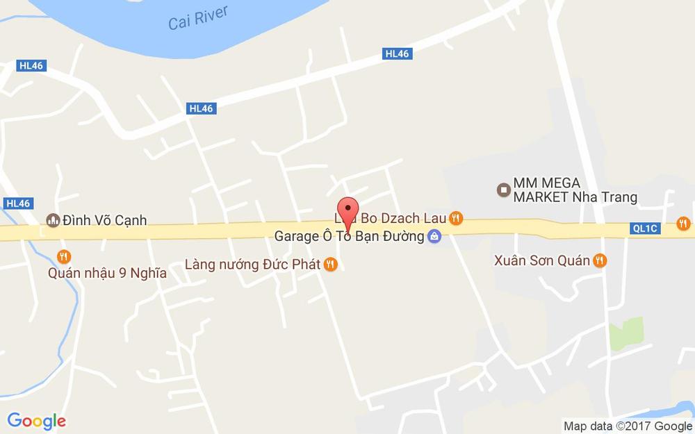 Vị trí bản đồ Đường 23 Tháng 10, P. Vĩnh Trung Tp. Nha Trang Khánh Hoà