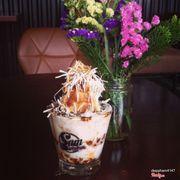 Cafe cốt dừa trân châu siu ngon