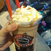Caramel freeze, thơm ngon. 3size 49,59,65k cho các bạn lựa chọn.