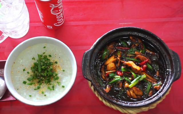 Cháo Ếch Singapore Nguyễn Sang