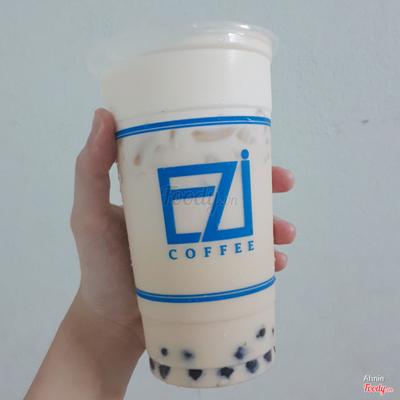 Trà sữa trà xanh hoa nhài