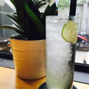 Soda chanh - Sparkling water with lemon