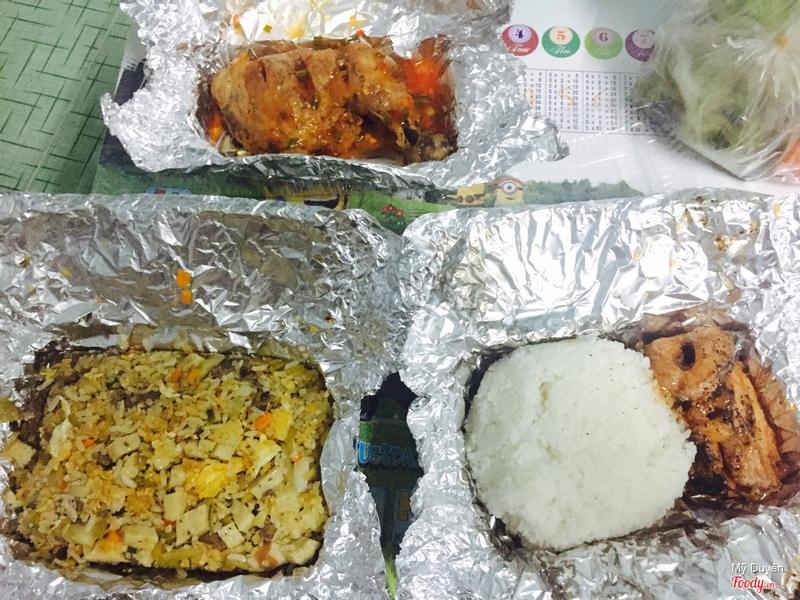Cơm dưa bò, cơm cá lóc kho, đùi gà chua ngọt + ship 124k