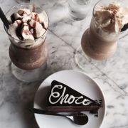 I ced coffee frapper hazelnut & I ced coffee frapper & Chocolate Truffle