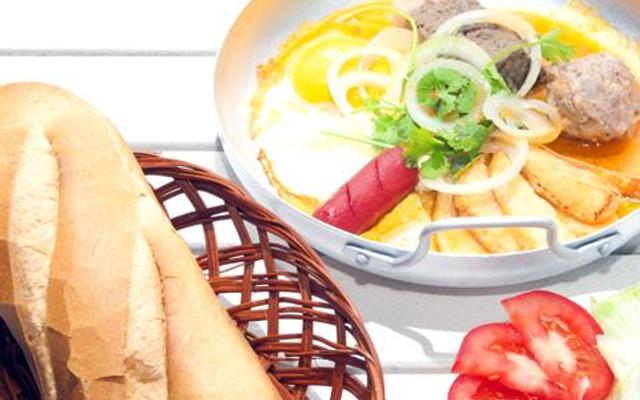 Bánh Mì Chảo Ốp La - Chợ An Khánh