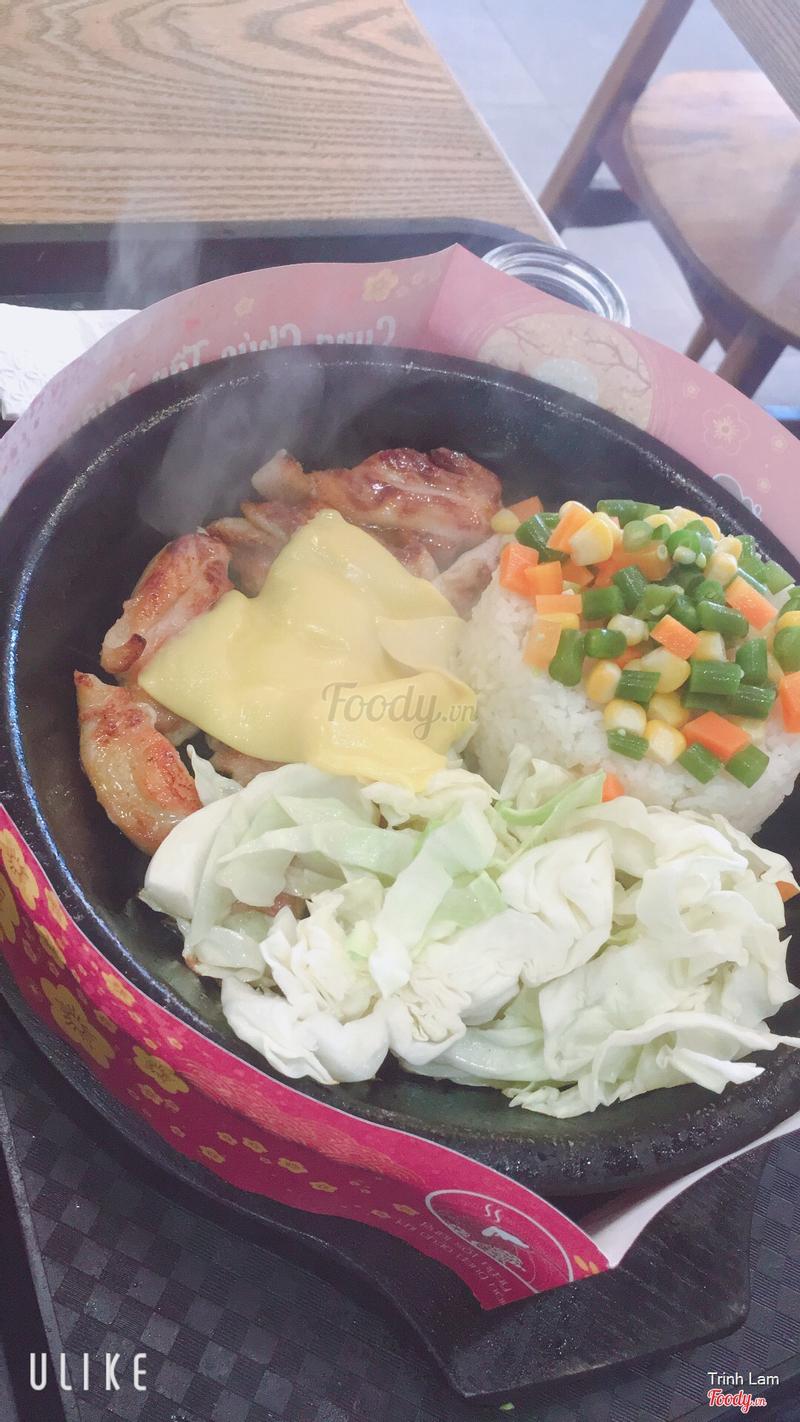 Cơm gà phi lê phô mai