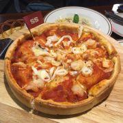 pizza nhân nhồi