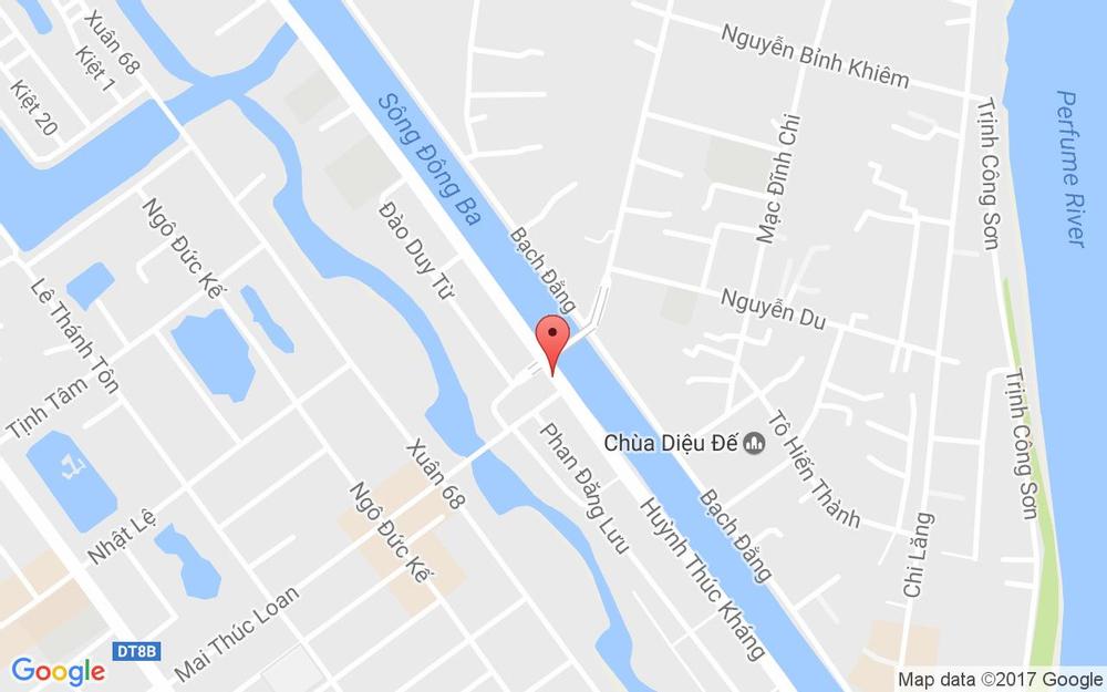 Vị trí bản đồ Mè Xửng Nam Thuận - Huỳnh Thúc Kháng ở Huế