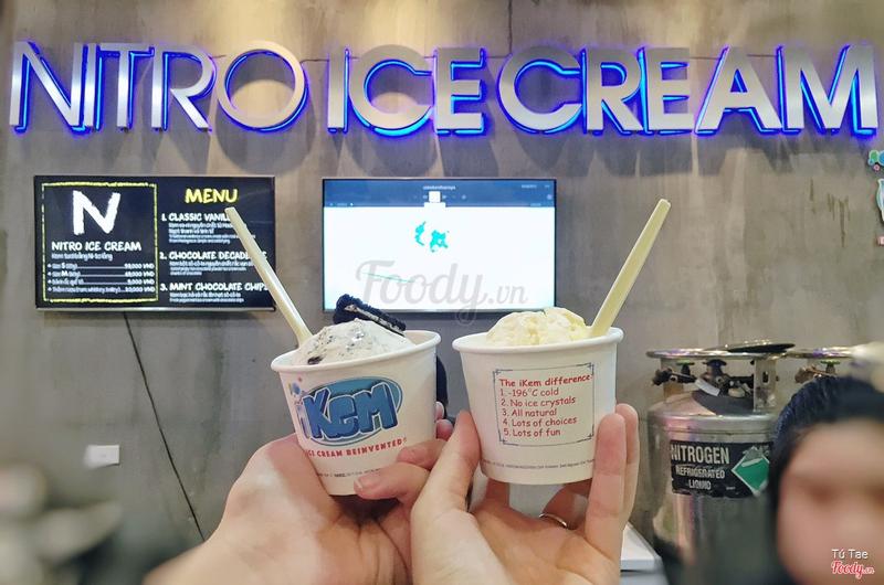 Nitro icecream