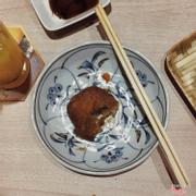 Bánh corokke nhân sukiyaki