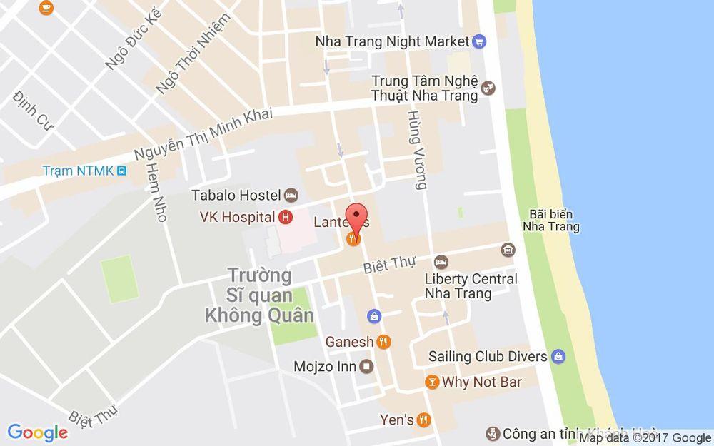 Vị trí bản đồ 59 Nguyễn Thiện Thuật Tp. Nha Trang Khánh Hoà