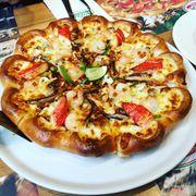 pizza hải sản phomai