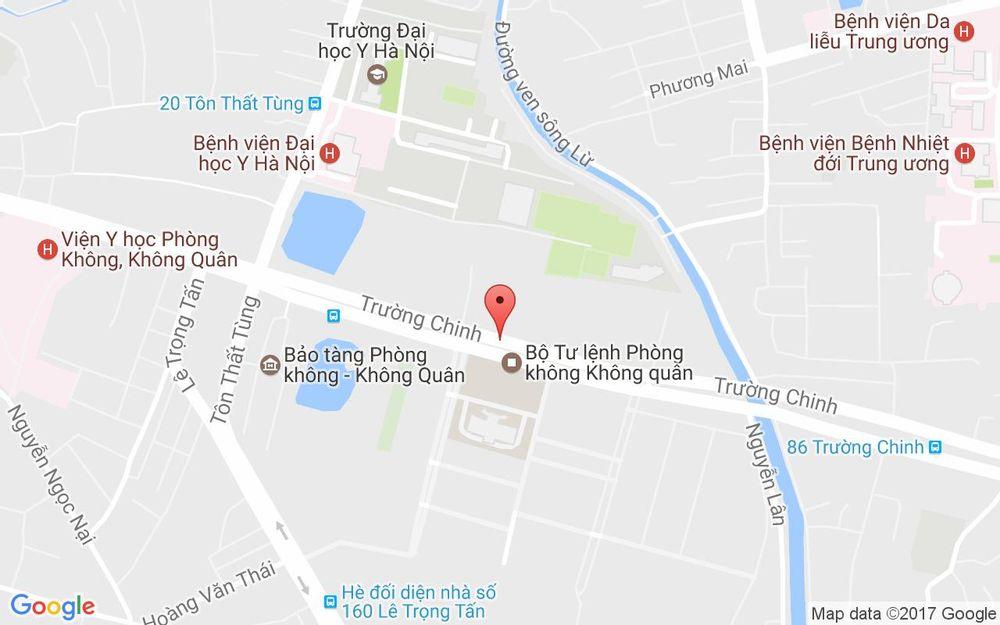 Vị trí bản đồ 173B Trường Chinh  Quận Thanh Xuân Hà Nội